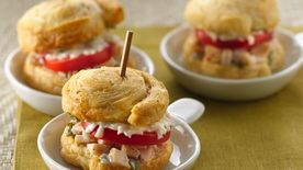 Chicken Italiano Sliders