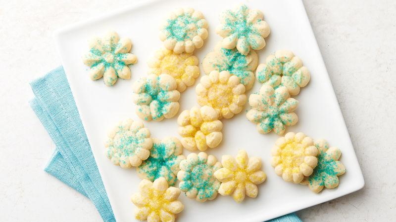 Classic Spritz Cookies Recipe Bettycrocker Com