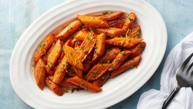 Cumin-Citrus Roasted Carrots