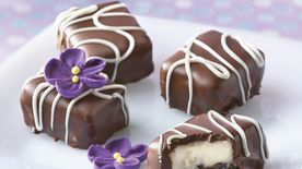 Chocolate-Almond Cheesecake Bites