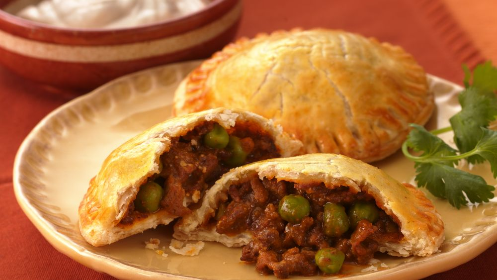 Curried Beef Samosas