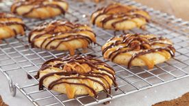 Caramel-Chocolate Pecan Cookies