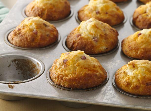 Ham, Egg and Cheese Muffins