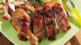 Great Grilled Ribs and Chicken