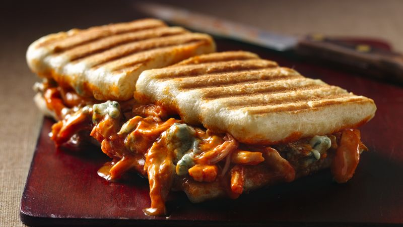 Buffalo Chicken Panini Recipe Pillsbury Com