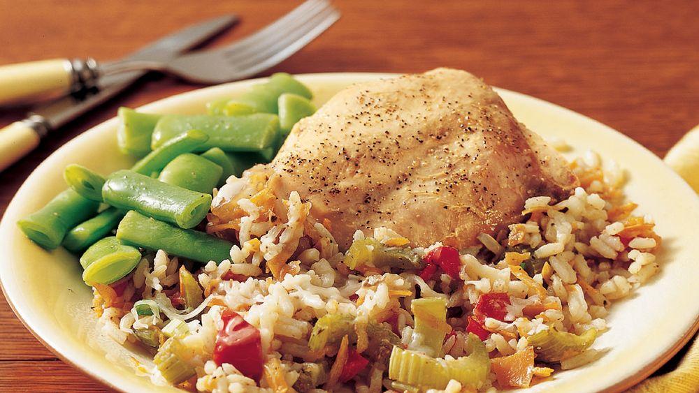 Italian Turkey-Rice Dinner