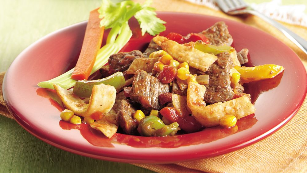 Salsa Fajita Beef