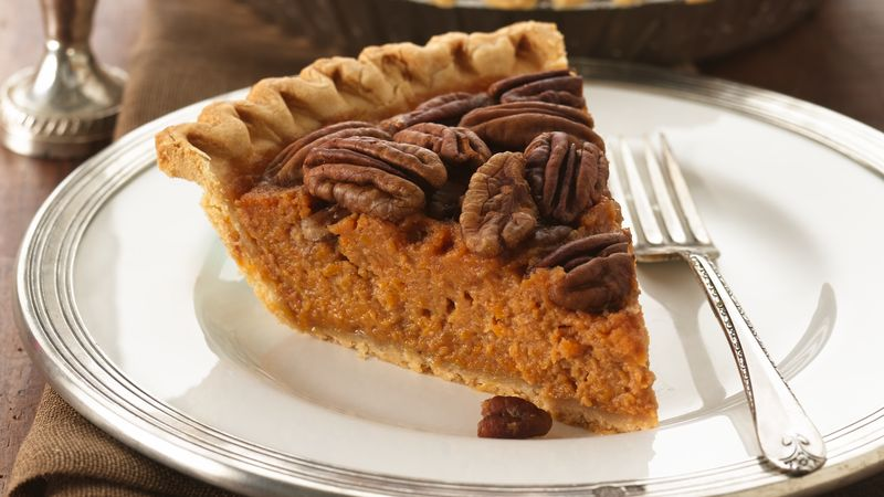Bourbon-Pecan Sweet Potato Pie