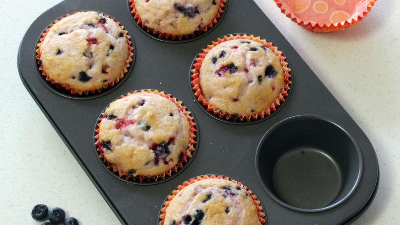 Muffins de Frutos del Bosque