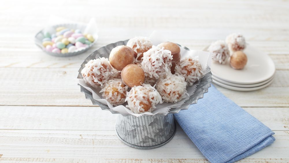 Cottontail Donut Poppers