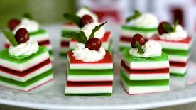 Holly Jolly Jello Shots