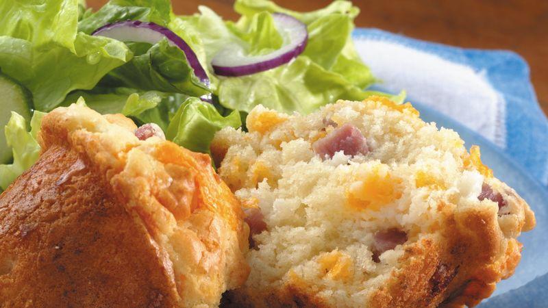 Ham and cheese muffins recipe bettycrocker ham and cheese muffins ccuart Gallery