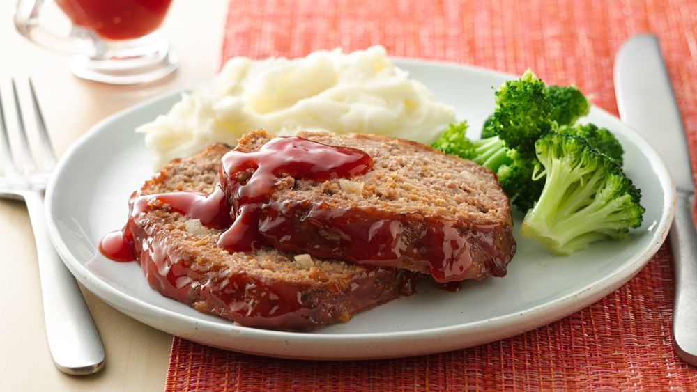 Home-Style Meatloaf with Maple Glaze