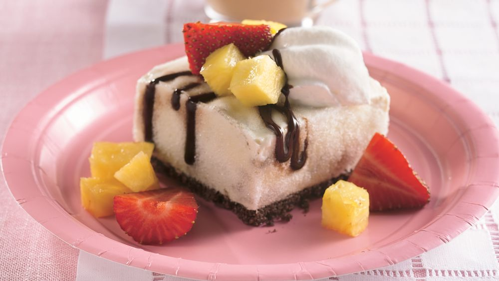 Frozen Banana-Split Dessert
