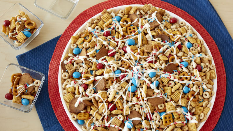 Sweet & Salty Spider-Man™ Web Snack Mix
