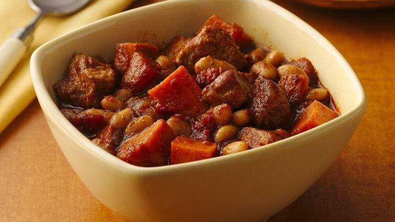 Pork and Sweet Potato Chili