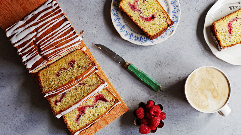 Raspberry-Lemon-Poppy Seed Loaf