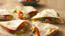 Fiesta Chicken Quesadillas