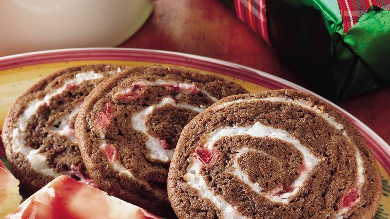 Choco-Cherry Swirl Cookies