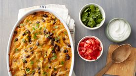 Green Chile Chicken Tortilla Casserole