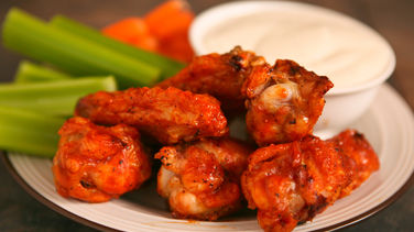 Grilled Hot Wings