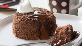 Slow Cooker Chocolate Lava Cake Recipe BettyCrockercom