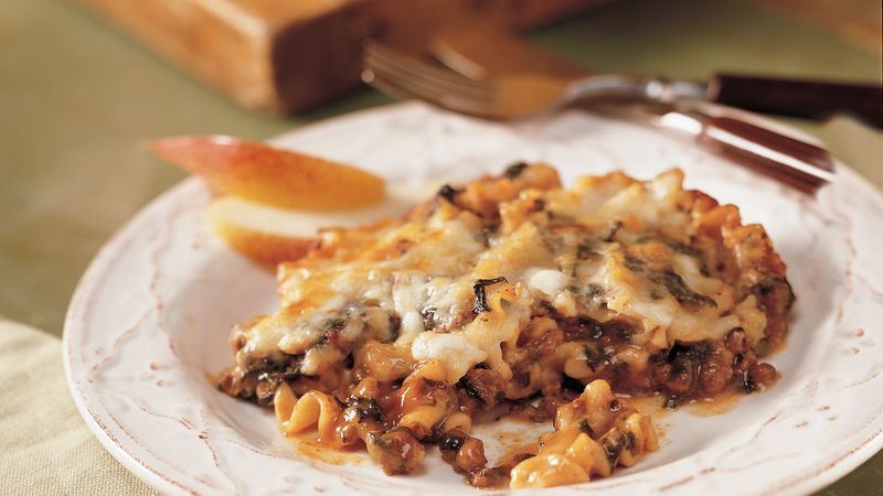 Spinach-Lasagna Casserole