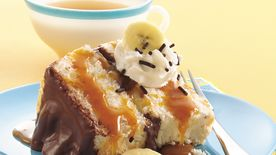 Banana-Chocolate-Caramel Cake