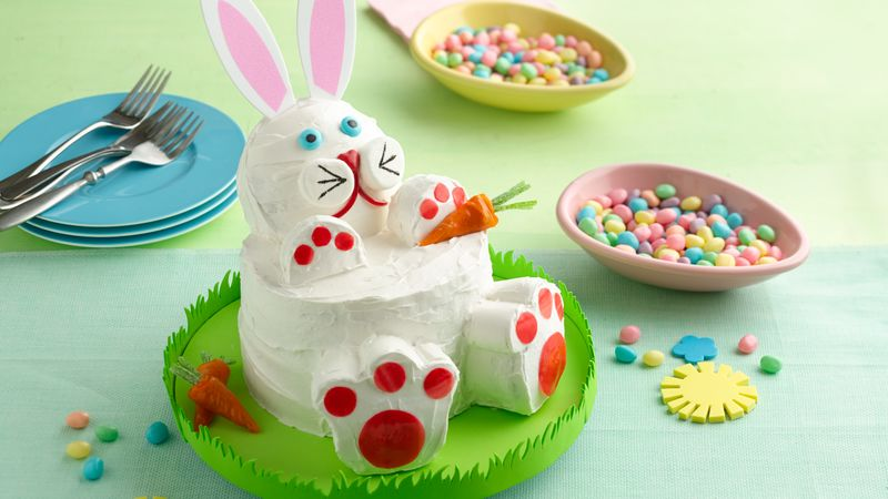 Easter Bunny Rabbit Cake