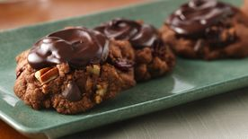 Gluten-Free Decadent Double Chocolate Cherry Cookies
