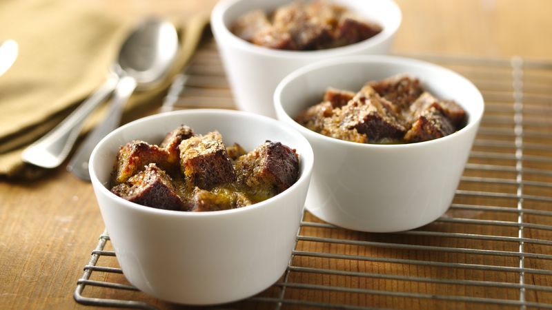 Caramelized Banana Bread Pudding