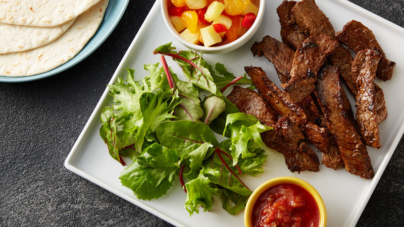 Flank Steak With Pineapple Salsa