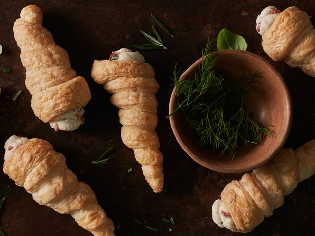 Savory Puff Pastry Cannoli