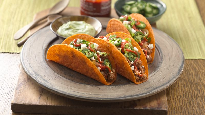 Spicy Lovers' Nacho Ten Minute Tacos