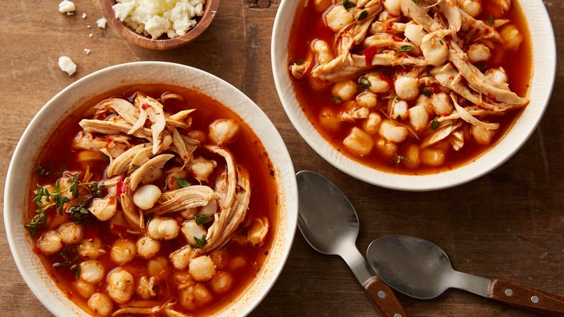 how to say pozole in english