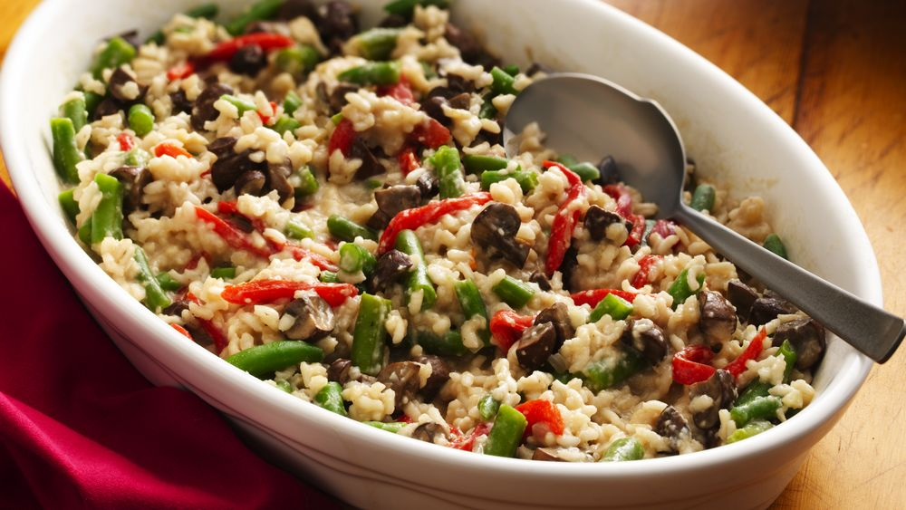 Baked Vegetable Risotto Recipe From Pillsbury Com