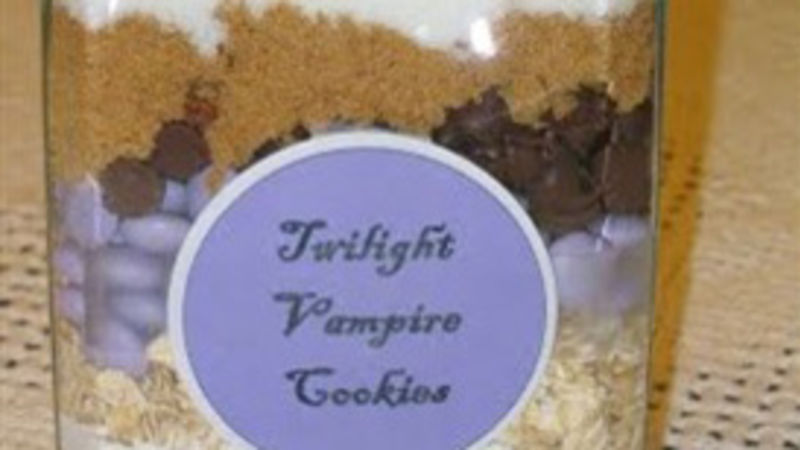 Twilight Vampire Cookies
