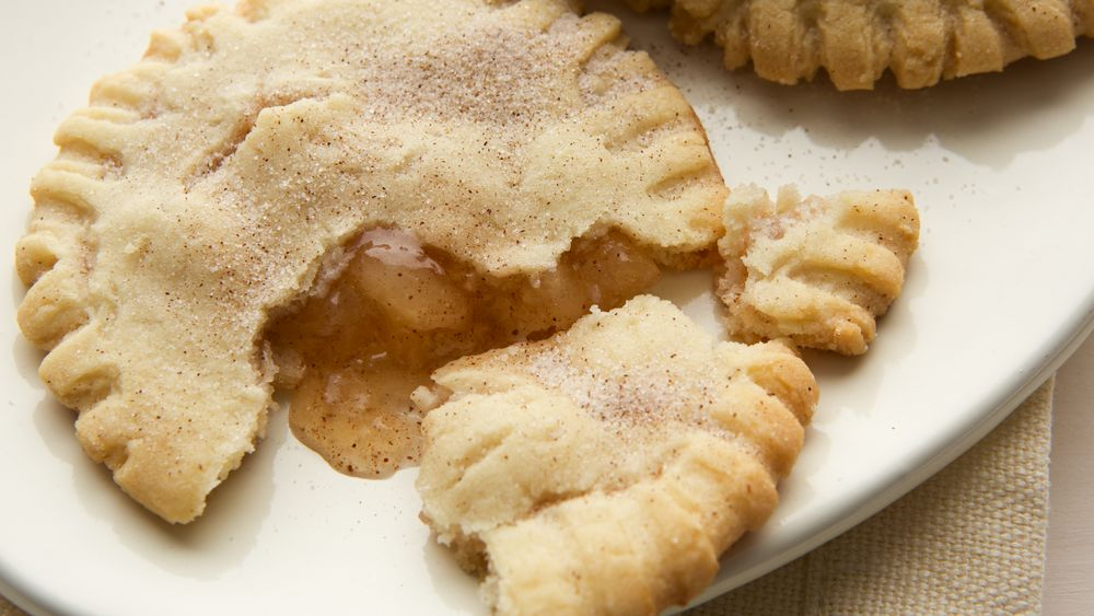 Apple Spice Cookie Pies