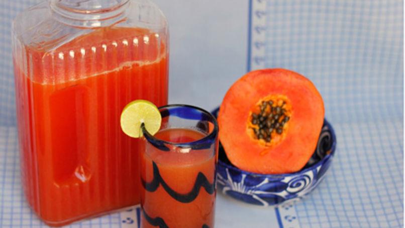 Papaya Agua Fresca