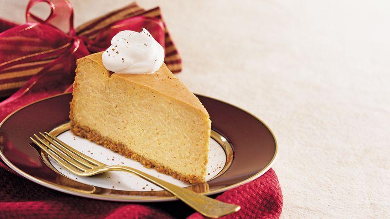 Skinny Pumpkin Cheesecake