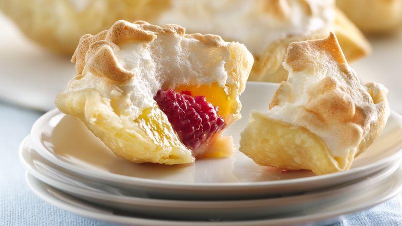 Mile-High Lemon Meringue Mini Pies