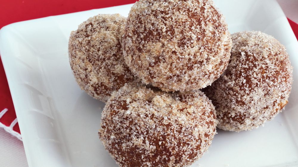 Gingerbread Doughnut Holes