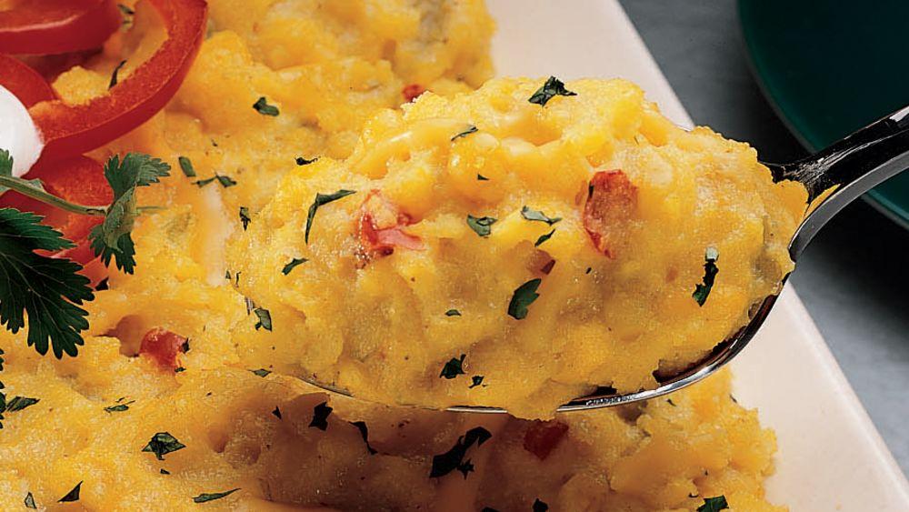 Cheesy Chile Polenta