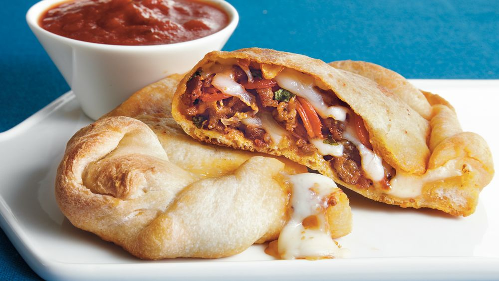 Loaded Calzones recipe from Pillsbury.com