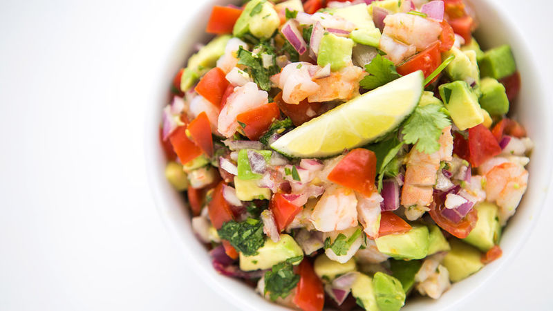 Shrimp ceviche salsa recipe for Shrimp and fish ceviche