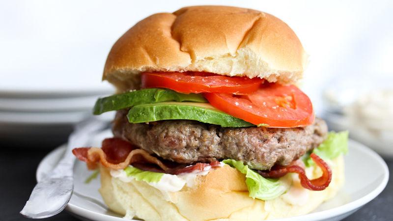 BLT Bacon Burgers
