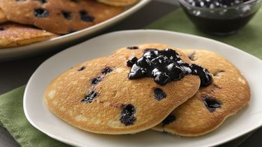 Blueberry Sour Cream Pancakes