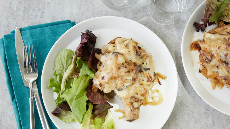 French Onion Pork Chops