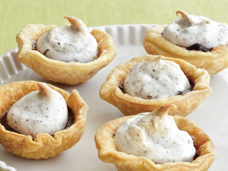 Mini Chocolate Meringue Pies