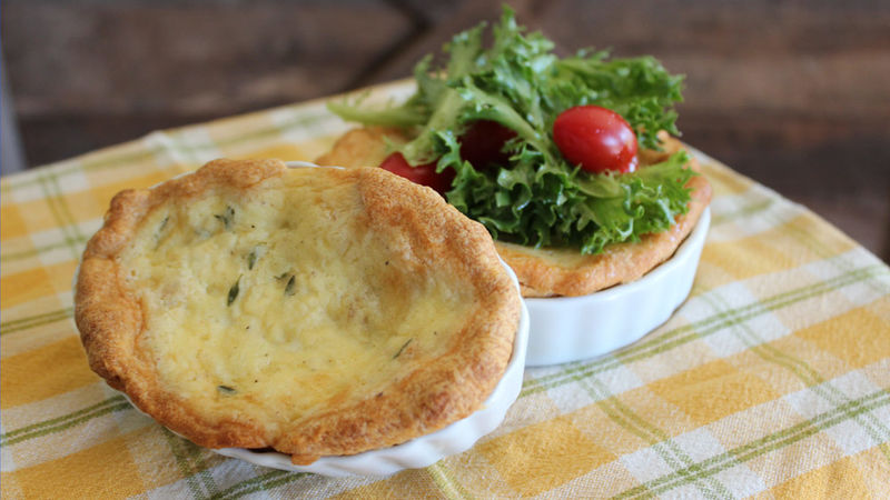 Cheesy Mini Quiches